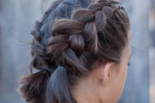 15 Dutch pigtail braids for a cute and rustic look, a short bob can be enough to make them