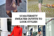 15 maternity sweater outfits to look stylish cover