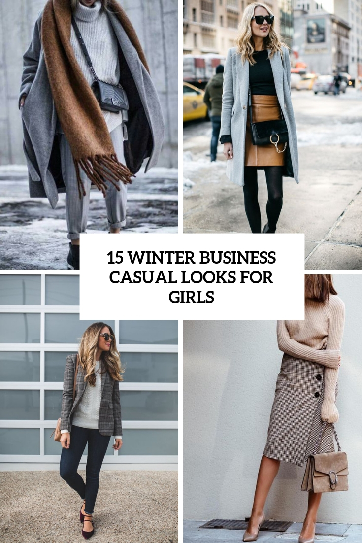 96049ad89e0 15 Winter Business Casual Looks For Girls - Styleoholic