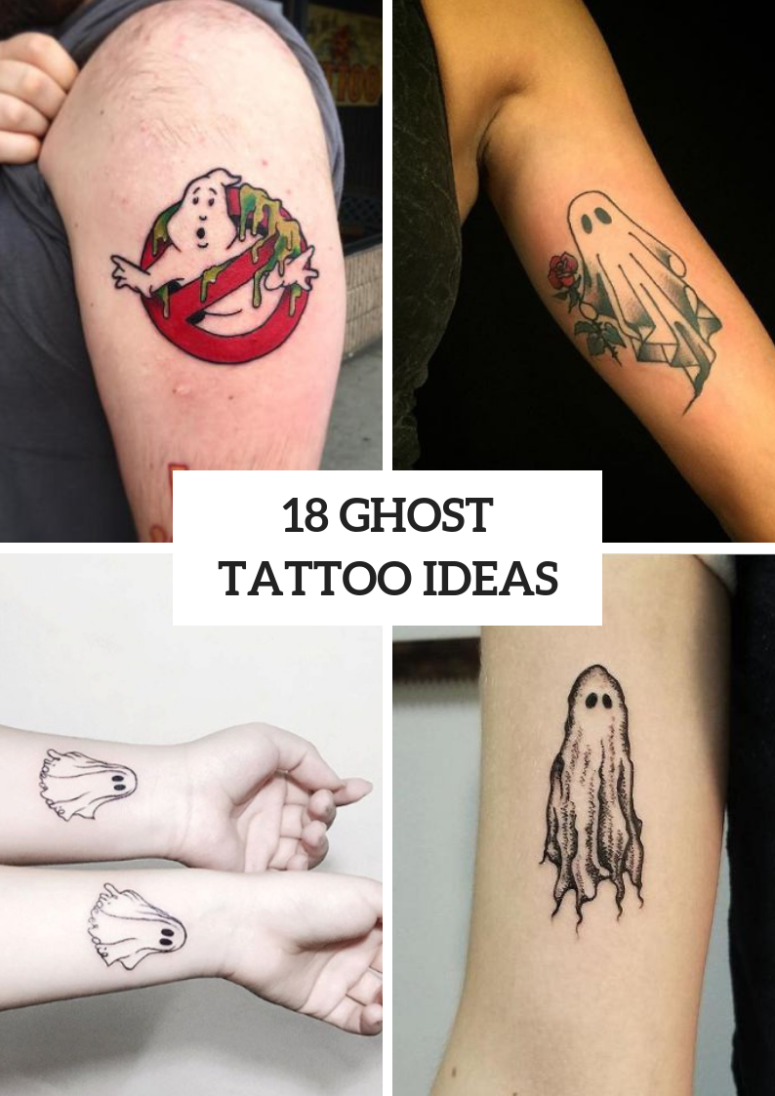 18 Amazing Ghost Tattoo Ideas