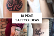 18 Awesome Pear Tattoo Ideas For Women