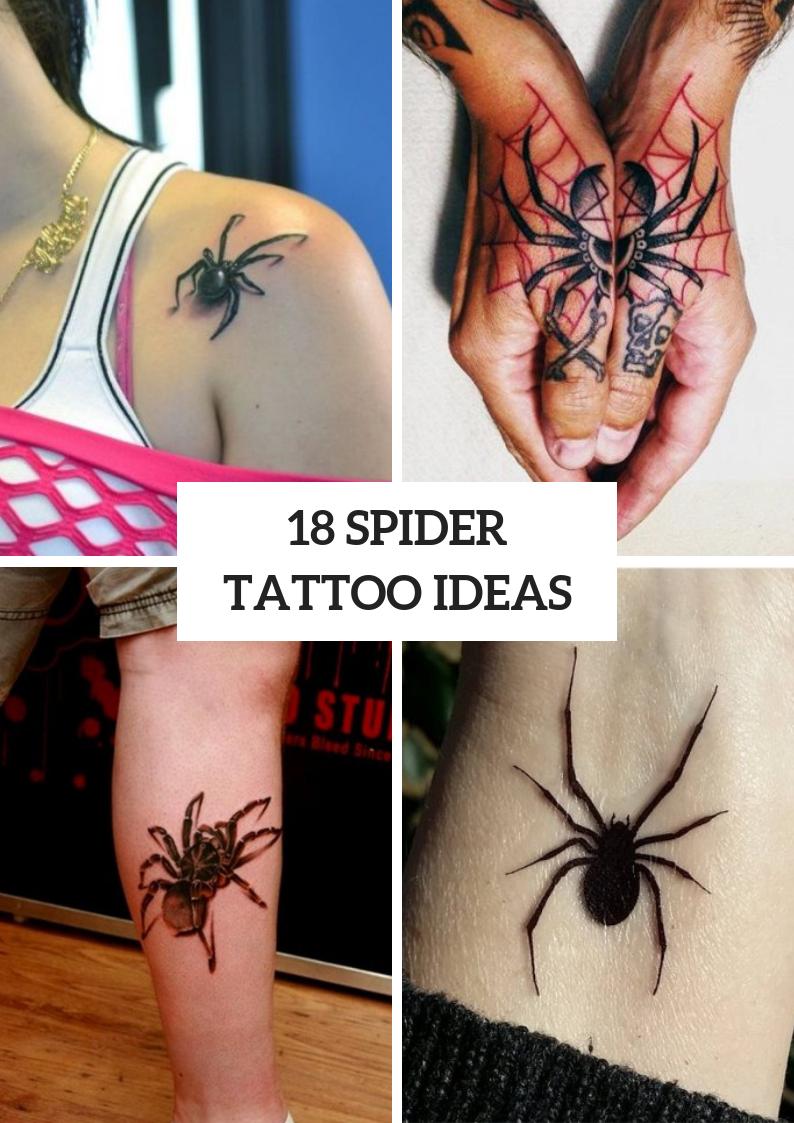 Cool Spider Tattoo Ideas