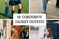 18 Corduroy Jacket Outfits For Stylish Ladies