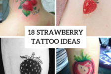 18 Excellent Strawberry Tattoo Ideas For Women