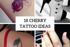 18 Gorgeous Cherry Tattoos For Ladies