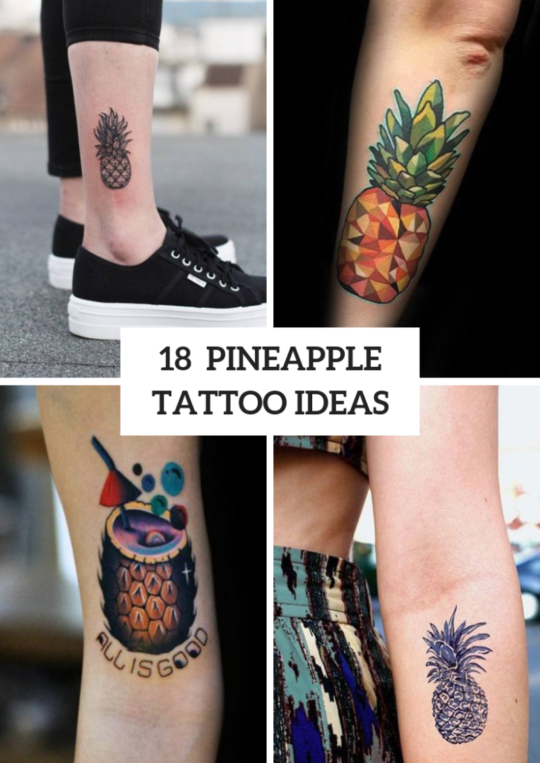 Pineapple Tattoo Ideas To Repeat
