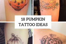 18 Pumpkin Tattoo Ideas To Repeat