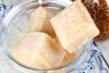 DIY exfoliating pumpkin spice sugar cubes