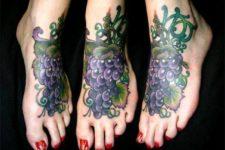 Big tattoo idea on the foot