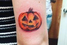 Classic Halloween tattoo