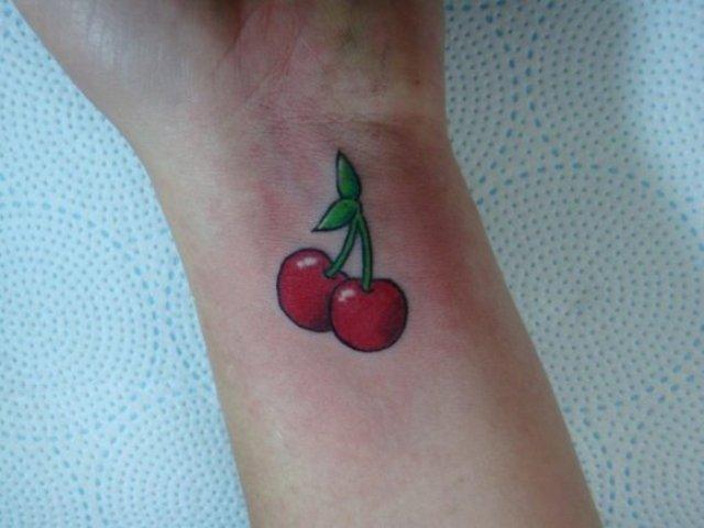 Small tattoo on the wrist