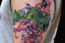 Watercolor tattoo idea