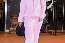 04 if your tracksuit is warm enough, you may skip outer garments and add only crazy platform boots like Rihanna