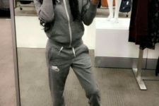 06 a grey tracksuit and coral ugg boots for shopping and doing weekend stuff anytime