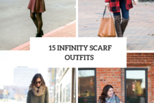15 Cozy Outfits With Infinity Scarves