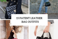 15 Feminine Looks With Patent Leather Bags