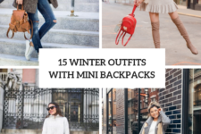 15 Winter Outfits With Cute Mini Backpacks
