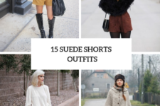 15 Winter Outfits With Suede Shorts To Repeat