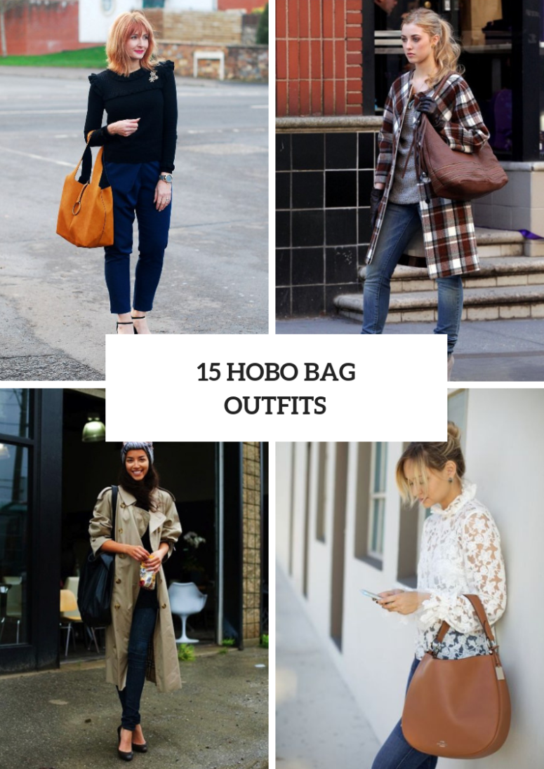 15 Wonderful Outfit Ideas With Hobo Bags