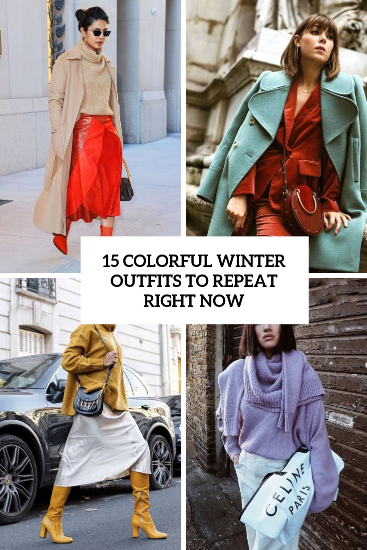 colorful winter outfits to repeat right now cover