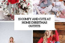 15 comfy and cute at home christmas outfits cover