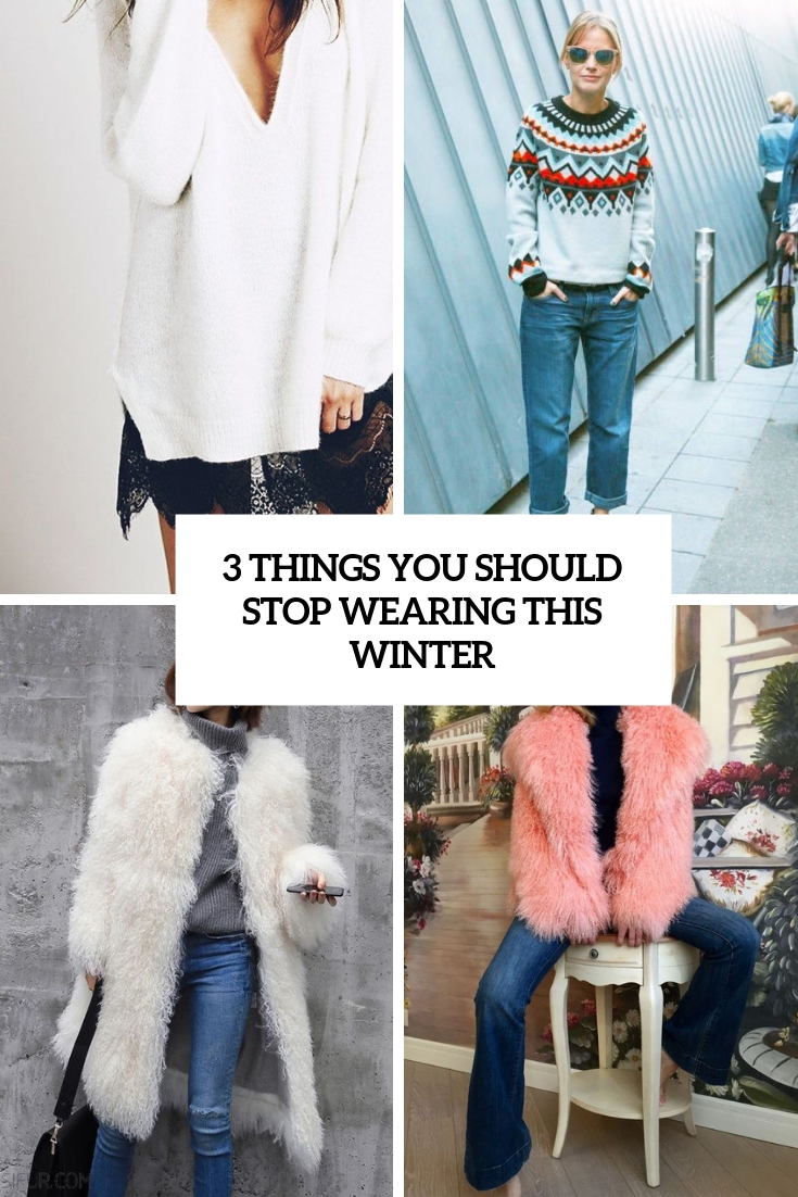 3 things you should stop wearing this winter cover