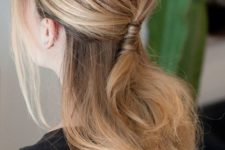 romantic work appropriate hairstyle suitable for an office party