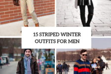 15 Awesome Striped Winter Outfits For Men