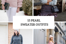 15 Elegant Outfit Ideas With Pearl Sweaters