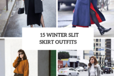 15 Feminine Outfits With Slit Skirts