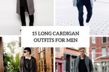 15 Winter Outfits With Long Cardigans For Men