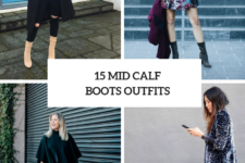 15 Winter Outfits With Mid Calf Boots