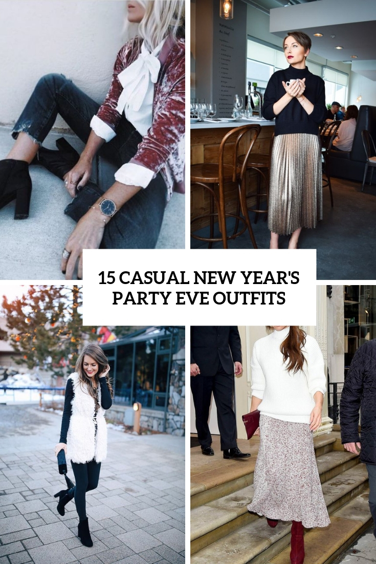 73e7d00f868c 15 Casual New Year's Eve Party Outfits - Styleoholic