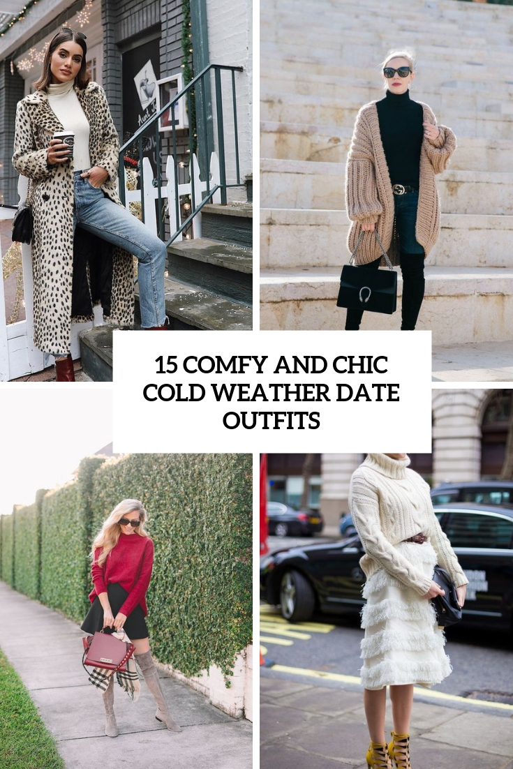 comfy and chic cold weather date outfits cover