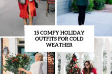 15 comfy holiday outfits for cold weather cover