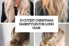 15 cutest christmas hairstyles for long hair cover