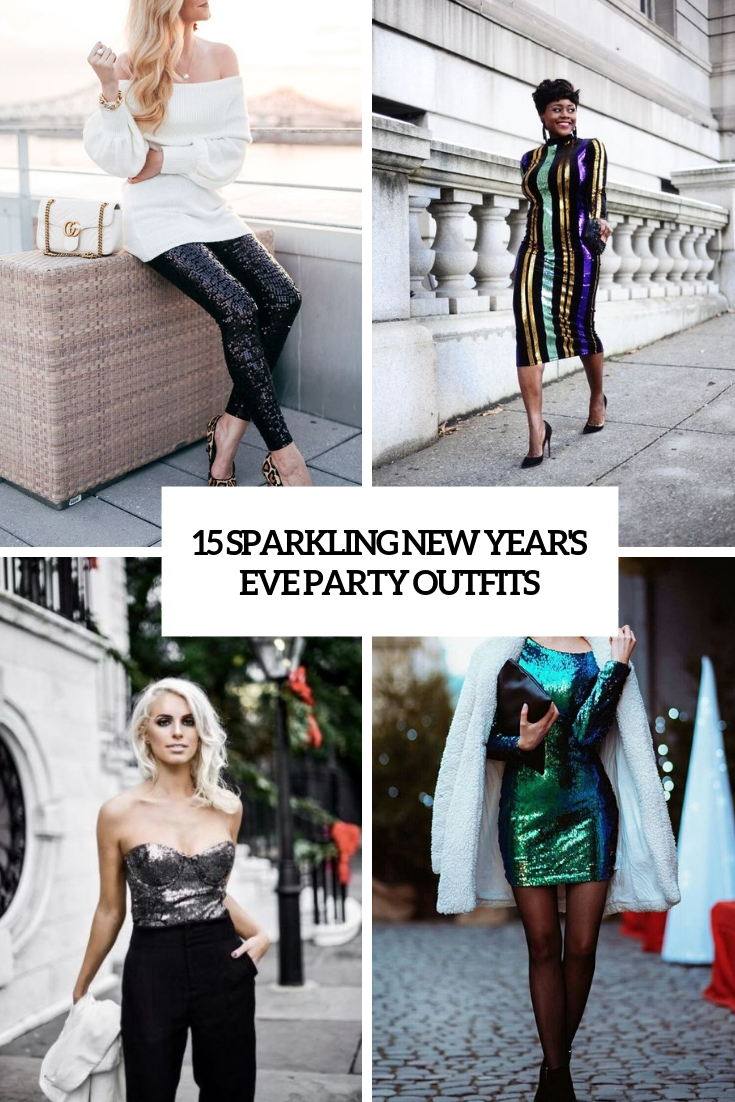 sparkling new year's eve party outfits cover