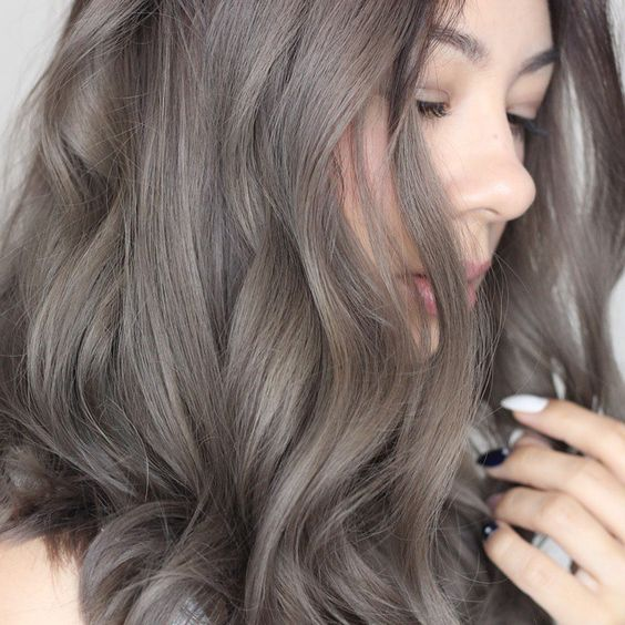 ashy brown locks is a fresh and bold take on usual brown hair and a way to spruce it up