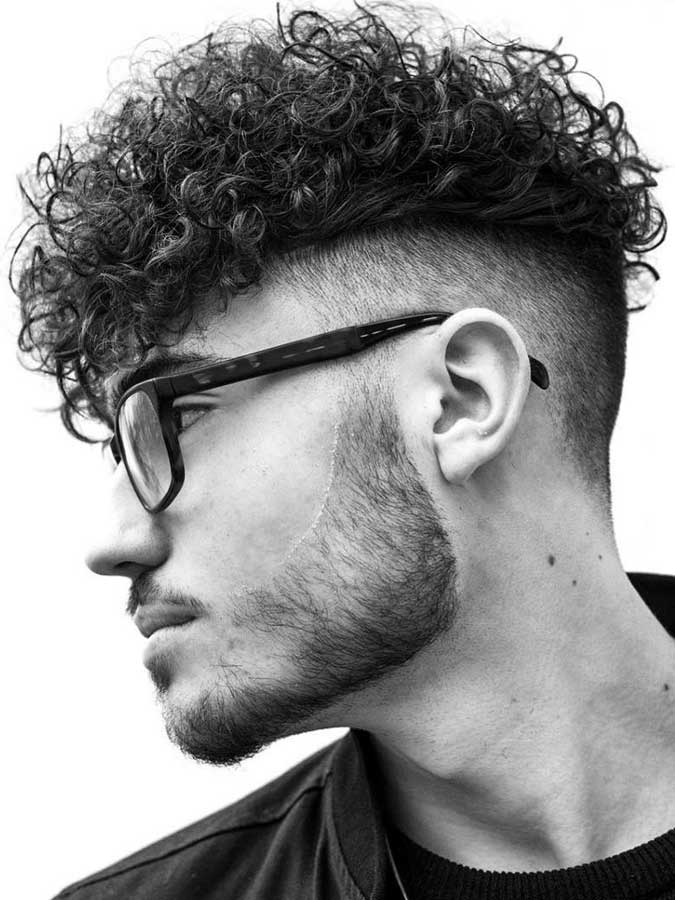 15 Trendy Men Haircuts For Naturally Curly Hair Styleoholic