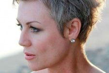 03 a short pixie textural haircut with grey hair looks bold and chic