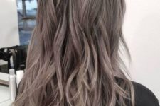 03 cool long layered ash brown hair is a fresh and modern idea with plenty of texture