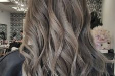 07 ashy cool tone brown with light waves is a beautiful idea to try right now