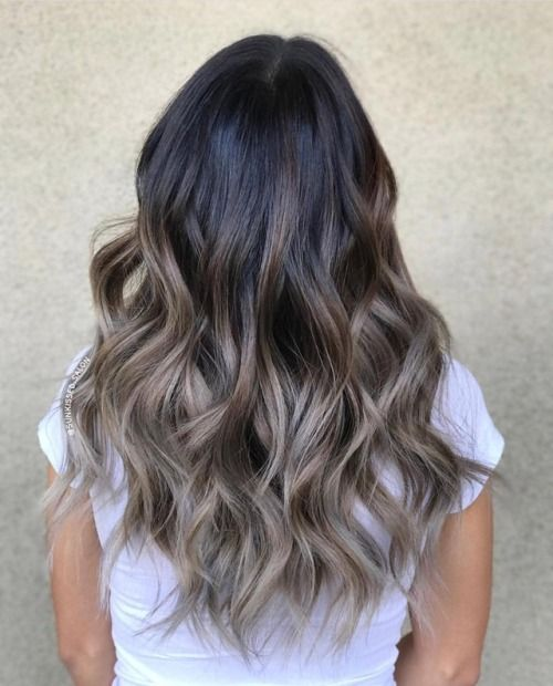 an ombre hairstyle on a black hair