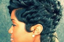 09 a chopped textured pixie haircut on curly hair is a timeless option that never goes out of style