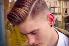 10 a polished retro haircut with a dashing mid fade gives a fresh look to the classics