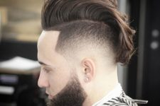 11 a high fade mohawk is a bold modern option with a movement and flow