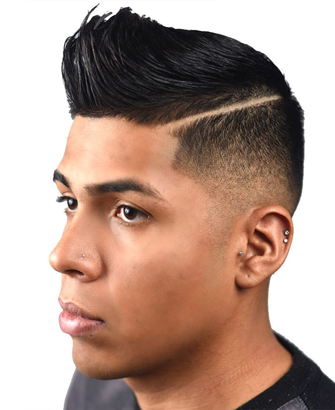 a line up with a pomp is a gorgeous idea to rock, it loosk modern and bold
