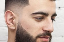 12 a line up with a pompadour is a whimsy and creative option to try