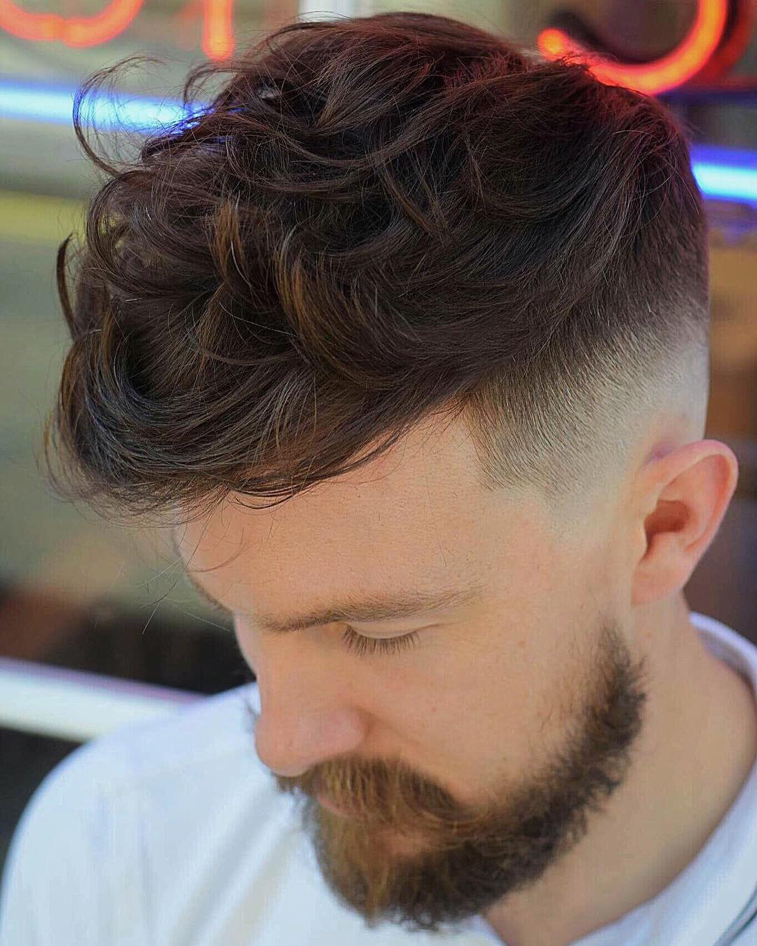 fringe hairstyle for curly hair