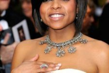 14 a short bob with side bangs is amazing for fine and for straight hair to show off the volume